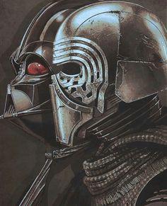 Eu gosto do Kylo Ren, é poderoso, mas ele nunca será o herdeiro legítimo de Vader, nunca.
