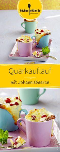 Ein sommerlicher Traum aus dem Ofen: rote Früchte, in einer süßen Quarkcreme mit Mandeln und Ricotta.