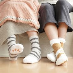 cat socks - yes please