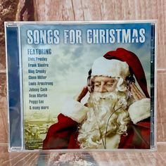 Songs For Christmas CD 🎄 25 Tracks New Sealed party holidays santa tree present Bing Crosby, Louis Armstrong, Dean Martin, Christmas Items, Seal, Track, Presents, Santa, Holidays