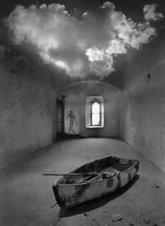 Before Photoshop allowed image makers to bend reality to their will with a single keystroke there was Jerry Uelsmann. He created surreal images the hard way — not with digital shortcuts, but working in a darkroom with seven enlargers and multiple negatives.