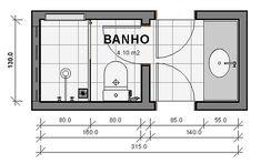 Bathroom Layout, Bathroom Interior Design, Small Bathroom, Bathroom Floor Plans, Bathroom Flooring, Blue Gray Kitchen Cabinets, Jack And Jill Bathroom, Modern Sink, House Plans