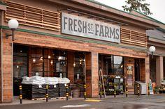 Fresh St. Farms by King Retail Solutions #arquitetura #comercial. Surrey, Grocery Store, Farms, Haciendas, The Farm, Homesteads, Farm Houses