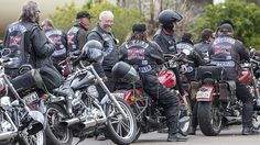 1000 Rebels bikies ride into Perth today on national cross-country ...