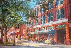 Knoxville Market Square - Giclée http://jillieeves.com/