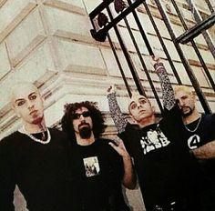 Shavo, Serj, Daron y John!!!! ❤