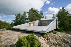 10 tiny houses in their own tiny island