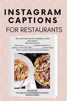 Instagram Tips, Facebook Instagram, Restaurant Marketing Strategies, Food Captions, Cafe Shop Design, Brand Board, Lunches And Dinners, Indian Food Recipes, Business Tips