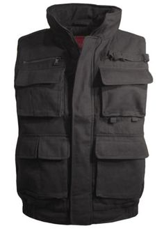 New-Maximos-Mens-Outdoor-Sports-Military-hunting-Multi-Pockets-Vest-Black