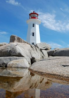 Peggys Point Lighthouse	located on the eastern shore of St. Margarets Bay 	Halifax Regional Municipality 	Nova Scotia 	Canada 	44.492778, -63.917400