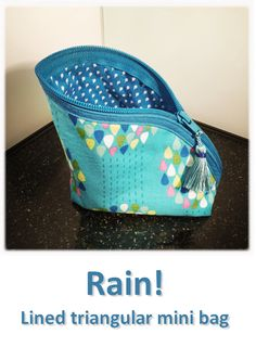 Rain! (02) Mini Bag, Lunch Box, Rain, Collection, Rain Fall, Bento Box, Waterfall, Small Bags