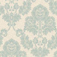 K2 Duck egg & cream Ashlei Mica Wallpaper Cream, Rugs, Bedroom, Wallpaper, Home Decor, Creme Caramel, Farmhouse Rugs, Decoration Home, Room Decor