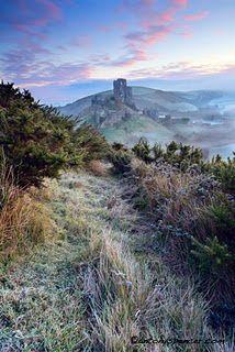 Corfe Castle, Dorset UK