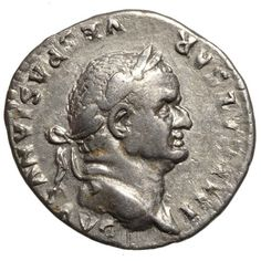 Catawiki online auction house: Roman Empire – VESPASIAN (69-79) AR Denarius, Rome, PAX