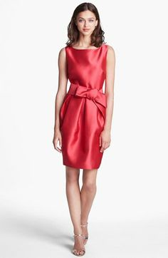 Eliza J Satin Sheath Dress | Nordstrom