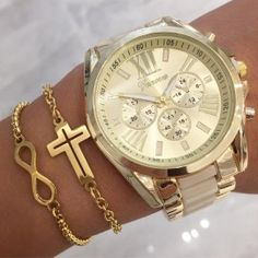 Dámske hodinky-150116-20 Michael Kors Watch, Gold Watch, Bracelet Watch, Watches, Bracelets, Accessories, Watch, Clocks, Clock
