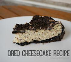 Oreo Cheesecake Recipe - Yummy #Dessert!