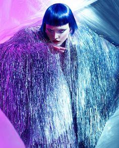 HOKKUS POKUS FOR 74 MAGAZINE   Photographer: Elizaveta Porodina   Model: Asia@m4 models   MUA: Heiko Palach  Style: Lorand Lajos