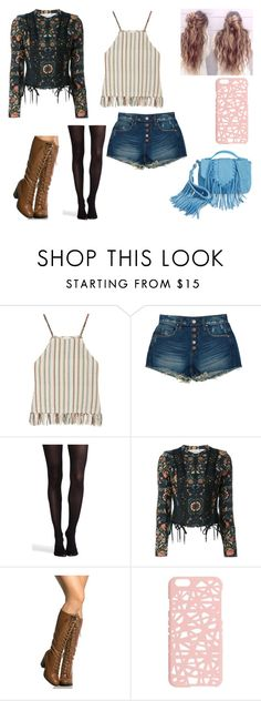 """Untitled #140"" by kora-muffin on Polyvore featuring Miguelina, BLANKNYC, SPANX, Christian Dior, Miss Selfridge and Sam Edelman"