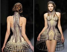 Jean Paul Gaultier  Totally love this