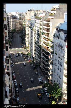 Avenida Callao in Buenos Aires