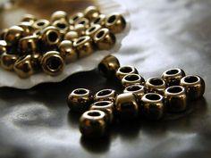 TOHO 3/0 Seed Beads-Bronze 5.5mm  - 10 Grams