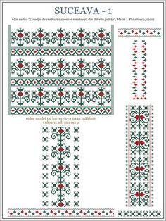 Semnele cusute - Un alfabet care vorbeste despre noi Embroidery Sampler, Folk Embroidery, Beaded Embroidery, Cross Stitch Embroidery, Embroidery Patterns, Knitting Patterns, Cross Stitch Borders, Cross Stitching, Cross Stitch Patterns