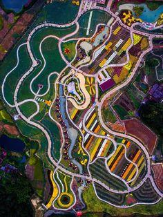 """Earth Graffiti,"" Shaoguan, Guangdong, China"