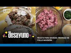 Receta para Navidad: pechuga rellena navideña | El Desayuno - YouTube Chefs, Relleno, Muffin, Breakfast, Youtube, Food, Morning Coffee, Essen, Muffins