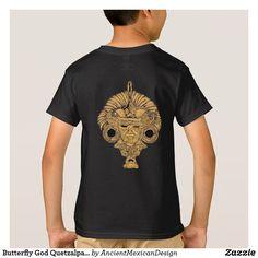 Butterfly God Quetzalpapalotl T-Shirt
