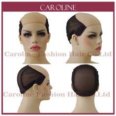 Glueless Ren Tóc Giả Cap Để Làm Tóc Giả Với Dây Đai Điều Chỉnh dệt Caps Đối Với Phụ Nữ Tóc Net & Hairnets Easycap Bán Buôn 6034