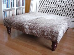 Cowhide Leather Trunk Coffee Table Tables And