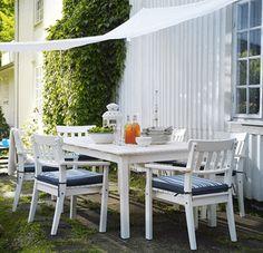 Ikea Gartenmöbel Outdoor Esstisch Sonnensegel Stühle