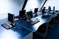 Photo about Computers in corporate office room. Image of desk, business, modern - 5664182 Corporate Interiors, Office Interiors, Pc Cleaner, Slow Computer, Seo Strategy, Photo Editing, Stock Photos, Business, Modern