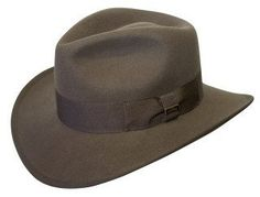 CoV-Ver Hats Wool with Grosgrain Ribbon Water Repellent Indiana Jones Style Hat (X-Large, Brown) CoV-Ver. $31.95