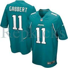 Reebok Men/'s Jacksonville Jaguars Jersey #11 Blaine Gabbert NWT XL