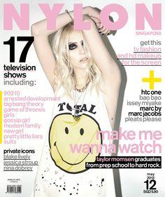 Taylor Momsen - Nylon Magazine Cover [Singapore] (May 2013)