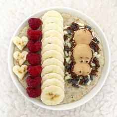 Tag a friend who'd love hippo oats! Today's brekkie was oatmeal topped with banana, raspberries, chocolate curls and swimming Kinder Happy Hippo. 🌻 Have a nice evening! Chocolate Curls, Raspberries, Happy Sunday, Acai Bowl, Oatmeal, Banana, Swimming, Positivity, Nice