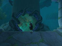 Según parece ese es el portal al Sueño Esmeralda de Ysera. Pero no sé...