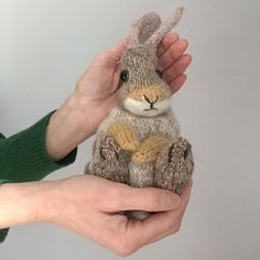 Mesmerizing Crochet an Amigurumi Rabbit Ideas. Lovely Crochet an Amigurumi Rabbit Ideas. Baby Knitting Patterns, Knitting Kits, Baby Patterns, Free Knitting, Knitting Projects, Crochet Patterns, Knitted Bunnies, Knitted Animals, Baby Bunnies