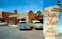 Tent Sale Outside Parkair Drive In Theatre 1960 Vintage