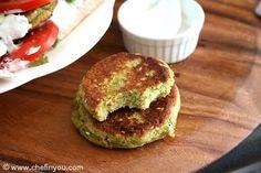 Zucchini Falafels With Yogurt Tahini Sauce Recipe   Chef In You, use nondairy yogurt