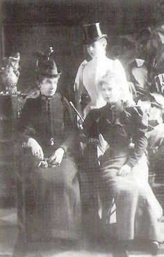 with daughters Auguste & Elisabeth