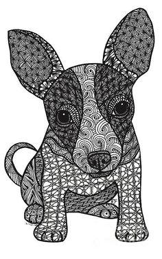 Alerte - Chihuahua Imprimer Par Dianne Ferrer