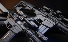 modern guns wallpaper