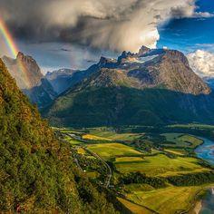 Romsdalen.    Norway