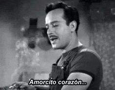Pedro Infante ★ awww my bf  sang this song for me <3