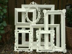 Picture Frame Assortment French Country by BusyBeaversAttic
