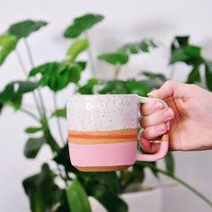 Beautiful photo of the Blush mug by 📷 @loressamartin