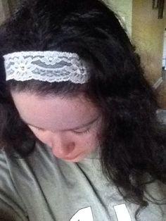 Cute lace headband